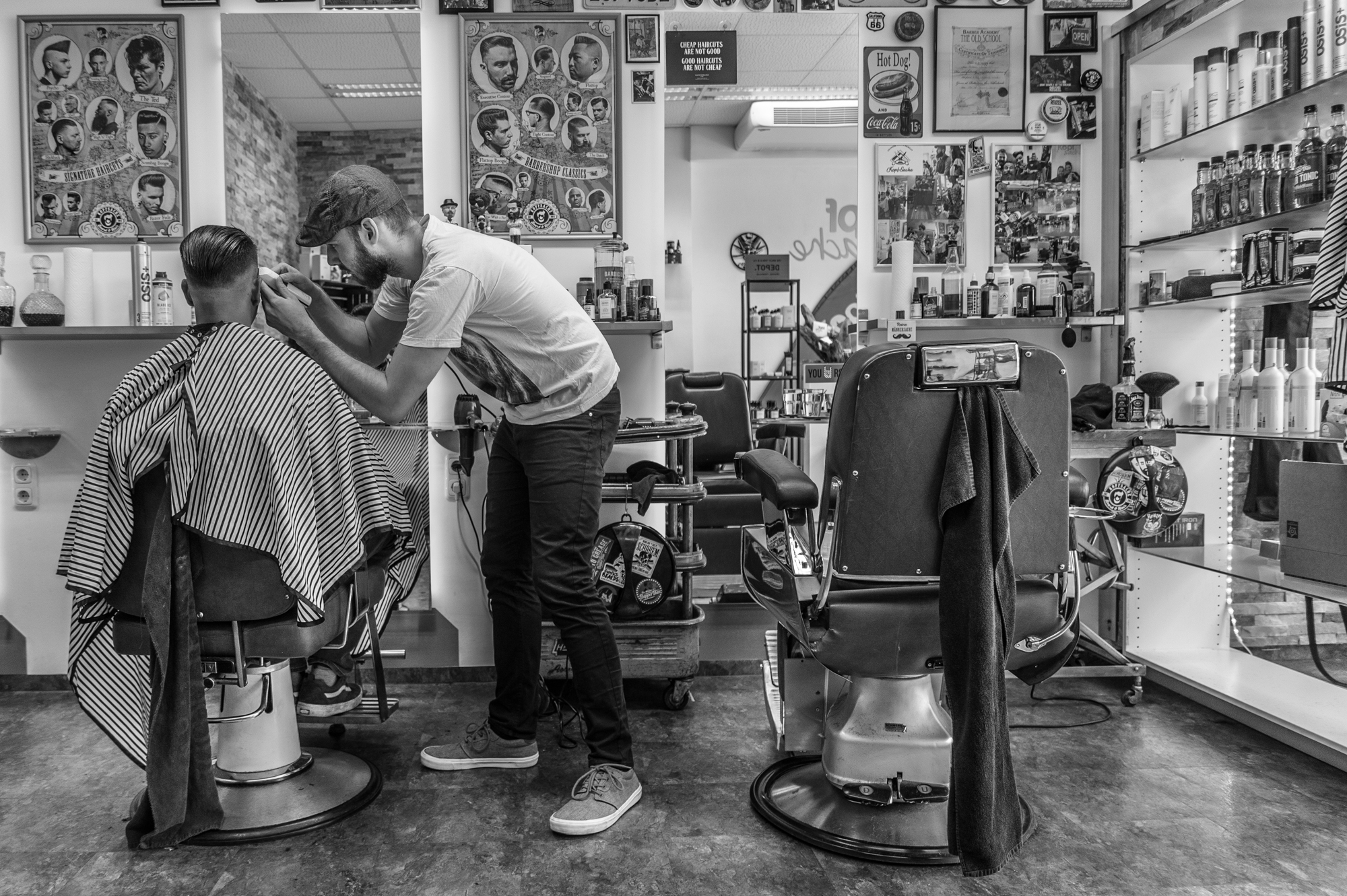 A Barber´s Day